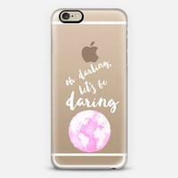Daring Pink World iPhone 6 case by Helene Sula | Casetify