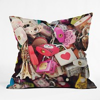 Catherine McDonald What The World Needs Now Throw Pillow
