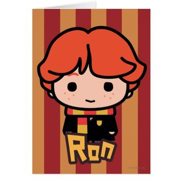 Ron Weasley Cartoon Character Art Card