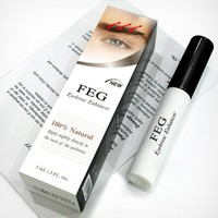 Eyebrow Enhancer Waterproof For Eyebrow Growth Makeup Brand FEG Make up Eye Brow Pencil Treatments Longer Thicker Cosmetics Set