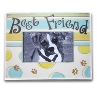 Best Friend Wooden Picture Photo Frame, Showcases Your Lovely Dog Photo YONO0459: Amazon.ca: Home & Garden