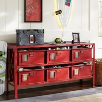 Rockwell 6-Drawer Bookcase