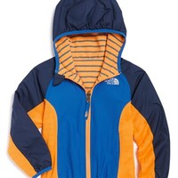 The North Face Toddler Boy's 'Grizzly Peak' Reversible Hooded Wind Jacket