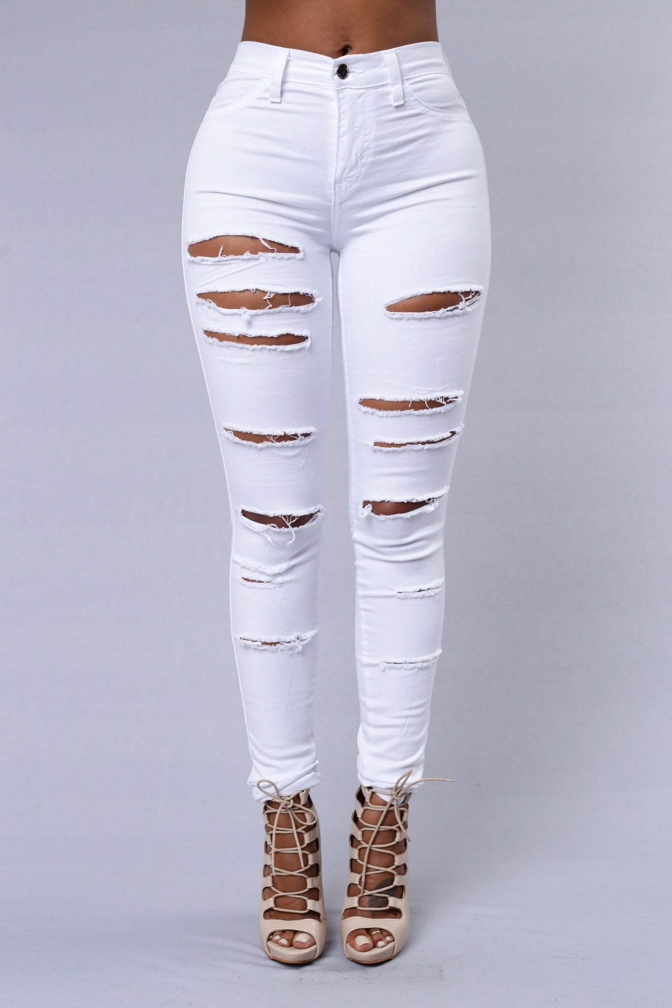 Slash and Burn Jeans - White from Fashion Nova | Dreaming Of