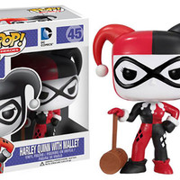 Harley Quinn with Mallet FUNKO Pop Vinyl Figure