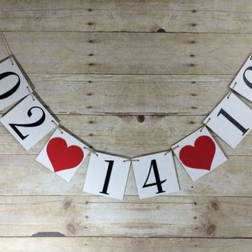 Save the Date Banner / Engagement Party / She Said Yes Banner / Engagement Photo Prop