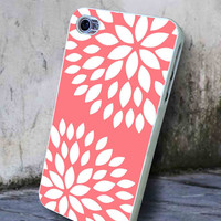 Coral Flower  -  iPhone 6, iPhone 6+, samsung note 4, samsung note 3,iPhone 5C Case, iPhone 5/5S Case, iPhone 4/4S Case, Durable Hard Case