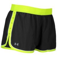 "Under Armour Heatgear 3"" Lightweight Woven Short - Women's at Foot Locker"