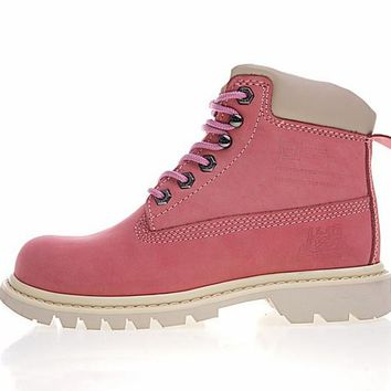 "CAT BRUISERB4C ""LIGHT PINK"" OUTDOOR BOOTS"