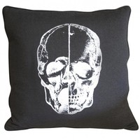Aldea Home | Skull Pillow