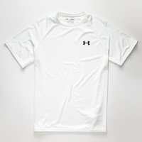 Under Armour Tech Mens Tee White  In Sizes