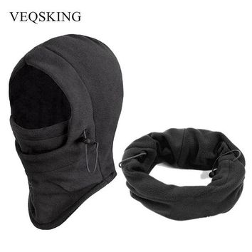 LMFEB2 Winter Windproof Hiking Caps, Warm Thermal Fleece Balaclava Cycling Face Mask,Sport Ski Bicycle Black Mask, Neck Warmer 4 Colors