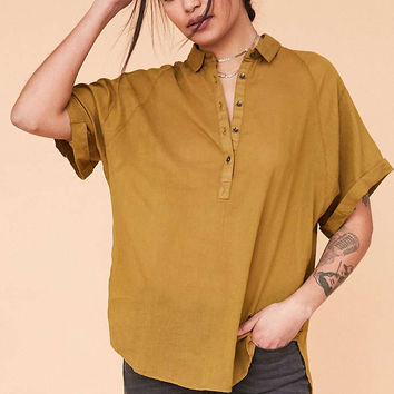 BDG Madison Popover Blouse - Urban Outfitters