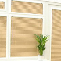 Achim Home Furnishings 1-Inch Wide Window Blinds, 43 by 72-Inch, Alabaster
