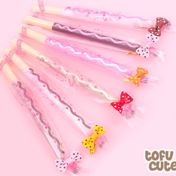 Buy Kawaii Deco Pocky Biscuit Stick Fineliner Gel Pen at Tofu Cute