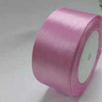 Discount sales Silk Satin Ribbon 4cm 25 yards Wedding Party Festive Event Decoration Crafts Gifts Wrapping Apparel Sewing Fabric