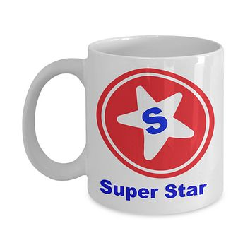 Super Star Novelty Coffee Mug Ceramic Coffee Cup Motivational Mugs With Sayings Gifts For Men Women