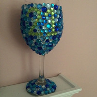 Customizable Birthday Wine Glass