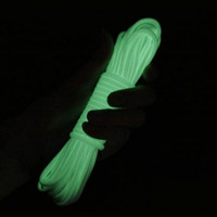 100FT 9 Cord Strand 550Lb Luminous Glow in the Dark Nylon Paracord Parachute Deg for Outdoor Camping Equipment Survival