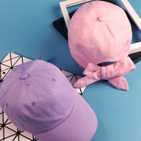 bow knot candy cap