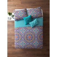Eva Boho 5PC Reversible Quilt Set