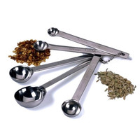 Endurance® Set of 5 Stainless Steel Measuring Spoons
