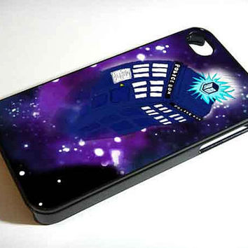 the tardis police box - iPhone 4 Case ,iPhone 5 case,samsung galaxy s3 and Samsung galaxy s4 Hard Plastic Case