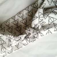 Harry Potter Deathly Hallows Bandana/Headwrap
