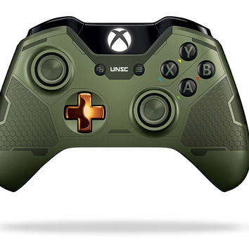 Xbox One Limited Edition Halo 5: Guardians Master Chief Wireless Controller