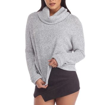 Heather Gray Comfort Me Sweater