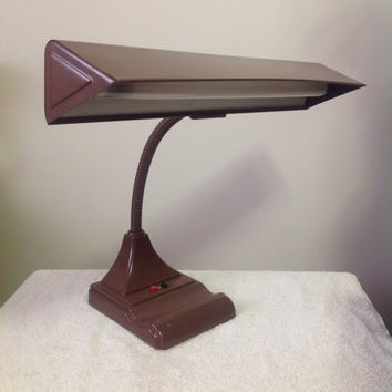 Vintage Flexarm Fluorescent Desk Drafting Lamp from Art Specialty