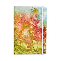 "Rosie Brown ""Fantasy Garden"" Yellow Painting Everything Notebook"