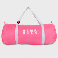 Glamour Kills - Globo Gym Bag Neon Pink