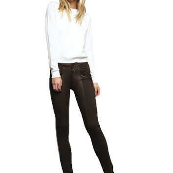 Black Orchid Jude Mid Rise Super Skinny Zipper Moto Legging **Available in 2 Washes**