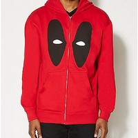 Minimal Deadpool Hoodie - Spencer's