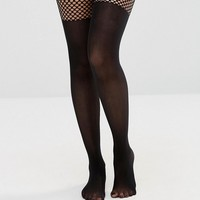 ASOS Fishnet Over The Knee Tights