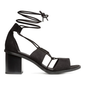 H&M Sandals with Lacing $34.99