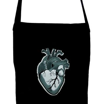 Anatomical Heart Crossbody Sling Bag Medical Oddities