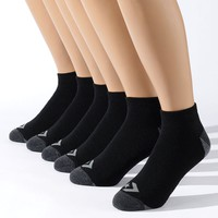 Converse 6-pk. Low-Cut Sport Socks, Size: 10-13