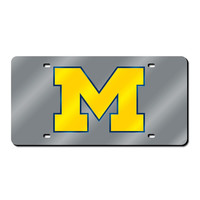 Michigan Wolverines NCAA Laser Cut License Plate Cover