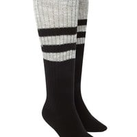 Varsity Stripe Knee High Socks