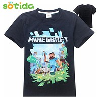 Baby boy clothes cartoon t shirts