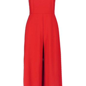 Grace Square Neck Culotte Jumpsuit | Boohoo