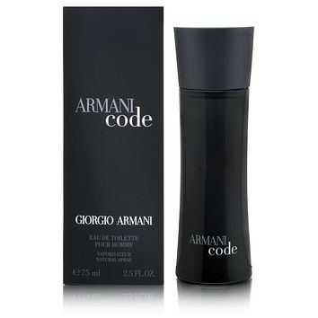Armani Code by Giorgio Armani For Men 2.5 Oz EDT Spray