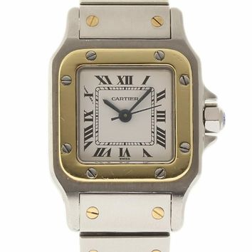 Cartier Santos Galbee swiss-automatic womens Watch Unknwon (Certified Pre-owned)