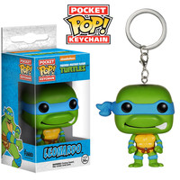 Leonardo from Teenage Mutant Ninja Turtles Pocket POP! Keychain