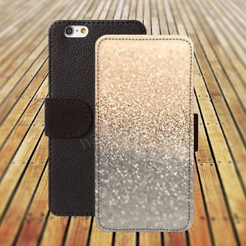 iphone 5 5s case sparkle golden dream colorful iphone 4/4s iPhone 6 6 Plus iphone 5C Wallet Case,iPhone 5 Case,Cover,Cases colorful pattern L450