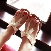 00-BOWKNOT IS FLAT SANDALS-9