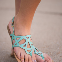 The Kimmie Sandal, Mint