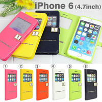 Hello Deere Stylish Open Tyle PU Diary Case for iPhone 6s / 6
